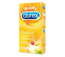 DUREX TROPICAL 6 PCS