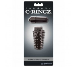 Fantasy C-ringz Vibrating Super Sleeve
