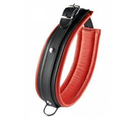 Collar 5 cm red