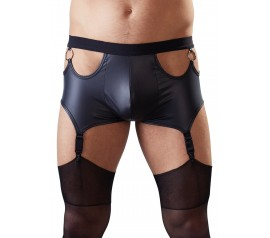 Pants with Suspender Straps