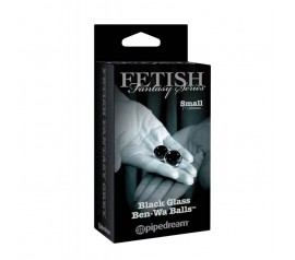 Fetish Fantasy Series Limited Edition Small Black Glass Ben-Wa Balls