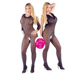 Crotchless Catsuit twoways