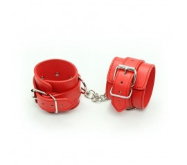 Polsiere cuffs belt red