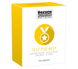 Secura kondoomide segupakk Test the Best 100 tk