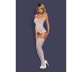 Bodystocking F214 white S/M/L