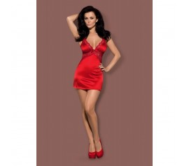 Secred chemise & thong red