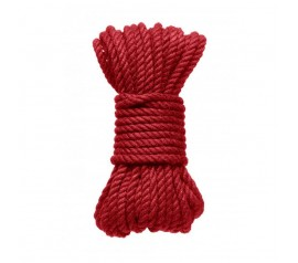 Bondage rope 5 m red
