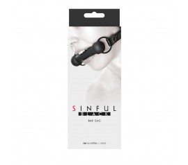 Sinful - Bar Gag - Black