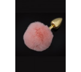 Jewellery Gold Fluffy pink - S