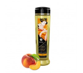 Shunga EROTIC MASSAGE OIL 240 ml / 8 oz PEACH