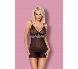 840-CHE-1 chemise & thong