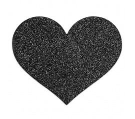 Flash Heart-Black