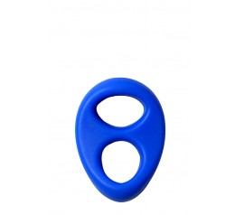 LIT-UP DOUBLE-RING LIQUID SILICONE BLUE