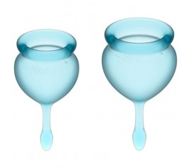 Feel good Menstrual Cup light blue