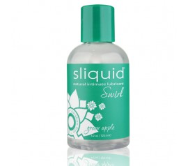 SLIQUID - NATURALS SWIRL LUBRICANT GREEN APPLE 125 ML