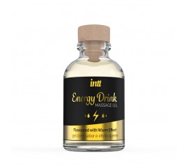 Energy Drink Warming Massage Gel