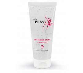 Erotic Massage Gel with a Strawberry Scent