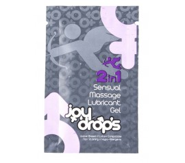 2 in 1 Sensual Massage Lubricant Gel - 5ml sachet