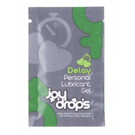 Delay Personal Lubricant Gel - 5ml sachet