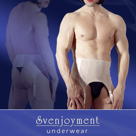 Nude Male Suspender Belt M