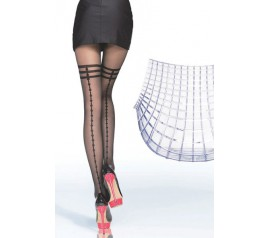 40 Denier Sheer Patterned Party Tights