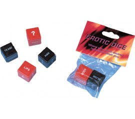 Plastic Dice Set of 2 Diff Color