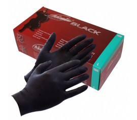 Black Ninja Latex disposable gloves (100 pcs.)