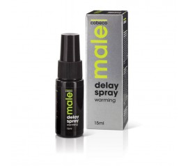Male delay-sprei soojendava effektiga 15ml