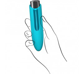 KEY Nyx Mini Massager Robin Blue